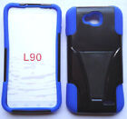 Phone Cover HYBRID T-STAND CASE For LG OPTIMUS L90 D410 D405 D415
