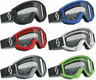 2014 SCOTT MX RECOIL XI MOTOCROSS GOGGLES solid enduro bike mtb tear off new