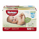 NEW Huggies Natural Care Baby Wipes, 864 ct. - Triple Clean Fragrance Free