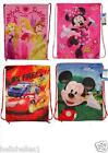 BOY/GIRL DISNEY DRAWSTRING SWIMMING / GYM / PE BACKPACK