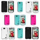 For LG Optimus L90 - Hard Rubberized Plastic Matte Snap On Phone Cover Case
