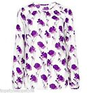 NEW MARKS&SPENCER CLASSIC COLLECTION SHADOW FLORAL PRINT BLOUSE SIZES 8 to 22