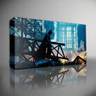 BATMAN IN RUBBLE - PREMIUM LARGE GICLEE CANVAS ART Choose your size