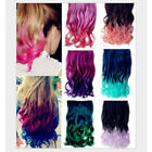 5 Clips in 1 PCS  Curly/Wavy Synthetic 3/4 Full Head Hair Extensions 11 Colors
