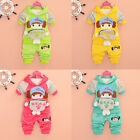 Baby Girls Kids Hoodie SportsWear Suit Outfit Jogging Suit Clothes Tracksuit Set