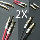 3.5mm Deluxe Male to Male Stereo Audio Auxiliary AUX Cable fr PC iPod CAR Phone