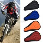 Bike Bicycle Cycling 3D Uneven Soft Gel Silicone Saddle Pad Cushion Cover Seat