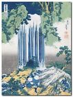 Quadro Hokusai 'The Yoro Falls, ca. 1830-1831' Stampa su Tela Canvas