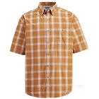 Wolverine Shirt Men's Creek Short Sleeve Pocket Plaid / Plain Color W1201360