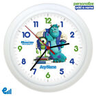 Monsters University Personalised Wall Clock Gift Kids Bedroom INC MU Sully Mike