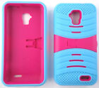 ZTE Unico LTE Z930L / ZTE Mustang Z998 Phone Case With BUILT IN SCREEN PROTECTOR