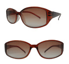 SUN READERS 100% UV LADIES DESIGNER BROWN READING SUNGLASSES STUNNING QUALITY