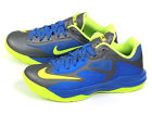 Nike LeBron ST III Cool Grey/Volt-Hyper Cobalt James XDR Basketball 642839-074