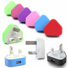 Home Wall Power Adapter UK 3 Pin Charger For iPhone 4 4s For iPhone 5 5S iPod 5G