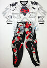 NO FEAR MOTOCROSS MX RED CAMO PANTS JERSEY OLMEC GREY KIT TROUSER SHIRT TOP NEW