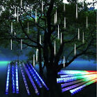 Waterproof 20/30/50cm LED Meteor Shower Rain 8 Tubes String Light Lamp For Xmas