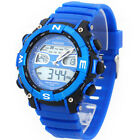 New OHSEN Waterproof Digital LCD Alarm Date Mens Military Sport Analog Watch F