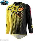 ONE INDUSTRIES MX OFF ROAD JERSEY ATOM ROCKSTAR BLACK YELLOW