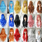 model8398 Cos high-temperature wig anime cosplay color wig in Europe and America