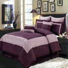 Wendy Purple 12-Piece Luxury Comforter Set