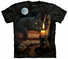 The Mountain  THE WITCHING HOUR  BLACK KITTIE shirt unisex mens and womens New