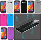 Samsung Galaxy Avant SM-G386T (T-Mobile) Phone Cover TPU Gel Case + SCREEN GUARD
