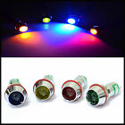 Muti size quantity Warning lights Chrome LED 12V Universal Car Dash Indicator
