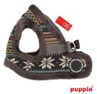 PUPPIA Dog Harness Choke Free VEST Fleece Lined GREY SNOWBALL - ALL SIZES