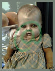 Vintage Doll POSTER/Weird and Scary looking/Macabre Wood Doll/17x22 inches