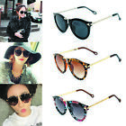 Fashion Arrow Glasses Eyewear Women Sunglasses Round Glass Retro Plastic Frame