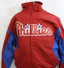 NEW Mens MAJESTIC Philadelphia PHILLIES Premier Triple Peak MLB Baseball Jacket