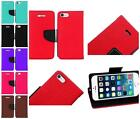 For Apple Iphone 6 6S Plus 5.5 INCH Premium Leather Credit Card Holder Cover