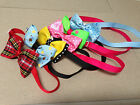 2PK Dog Cat Pet Adorable  Grooming Bow Tie Necktie  Clothes Collar  8''-17''