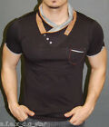 A.F.E.X D.G K&D STAR FUNNEL SCARF NECK CASUAL MUSCLE SLIM FIT BODY SHIRT TOP A61