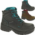 Wolverine Boots Womens Merlin Waterproof Composite Safety Toe Leather Work Boot