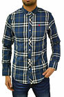 Mens Mish Mash Shirt Designer Fitted Checked Going Out Party Stylish Check Top