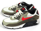 Nike Air Max 90 Essential Cushion Casual Summit White/University Red 537384-119