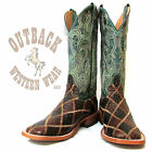 Anderson Bean Angry Bird Patchwork Ostrich Boots HP1075
