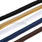 Neotrim 10mm 3 Ply Barley Twist Rope Cord Trim,Braided Piping,Silky Thick,Strong