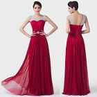 Lady New Red Formal Long Evening Ball Gown Party Prom CocktailBridesmaid Dress
