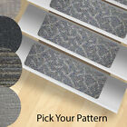 13 Stair Treads Carpet Rugs -  Indoor and Outdoor Use