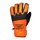 686 Authentic Safety Mens Snowboard Gloves Safety Orange 2015