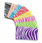 Lady Girls Colourful Zebra Pattern PU Bag Mobile Purse Coins Wallet Credit Card