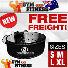 PRO LEATHER POWER LIFTING BELT W/ SIZES NEW BODYBUILDING POWERLIFTING GYM