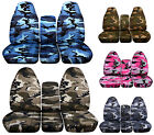 Toyota Tundra 2007-2013 40/20/40 Seat Covers 17 Camouflage Designs  ABF