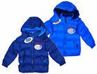 Boy's Peppa Pig GEORGE PIG Puffa Style Hooded Winter Coat 3-8 Years NEW