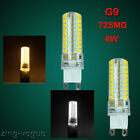 4X G9 72SMD Led Bulbs 6W Light High Power Day/Warm White Capsule Lamp UK 220V