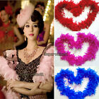 2M 79Inch Long Fluffy Feather Boa for Party Wedding Dress up Costume Decor NEW