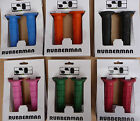 Savage Rubberman Coloured Handlebar Grips Scooter Bike BMX Cycle NEW 22.2mm