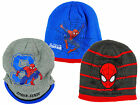 Boy's Marvel Ultimate Spiderman Knitted Winter Beanie Hat Cap 3-12 yrs NEW